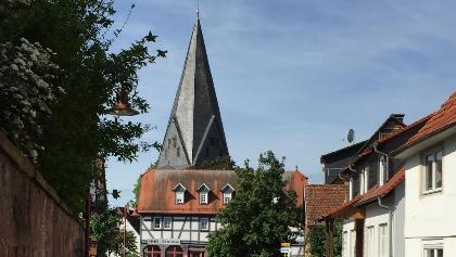 "Martinskirche Altenhasslau, Nähe Parkplatz ""Alte Schule"""