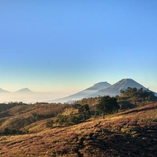 View from the top of Mt. Prau