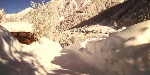 Winterlandschaft in Gaschurn