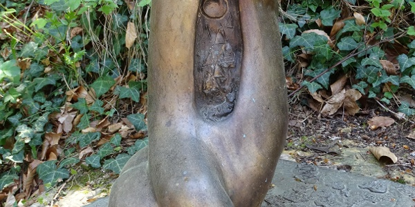 Skulptur auf dem Skulpturenweg