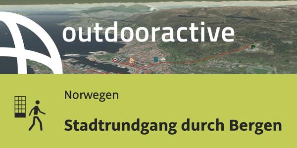 Stadtrundgang in Norwegen: Stadtrundgang durch Bergen
