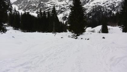 Zustieg zur Gaudeamushütte