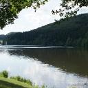 Strecke  - Eifelmarathon Stausee Biersdorf