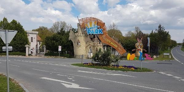 Eingang Familypark Märchenwald