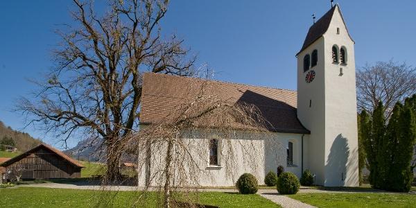 Die Kirche Gretschins