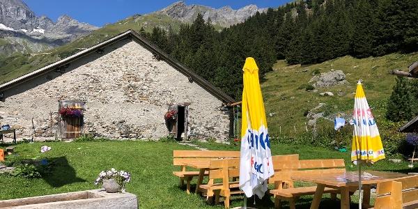 Alphütte Sardona