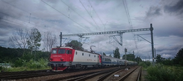 Train in Romania
