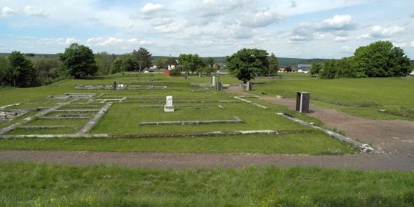 Römerkastell Abusina in Eining bei Bad Gögging