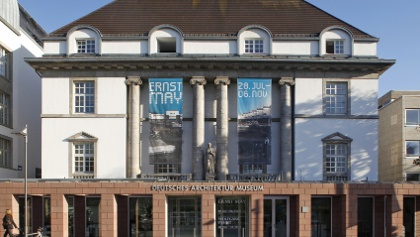 Deutsches Architekturmuseum, Frankfurt/M., Außenansicht, 2011