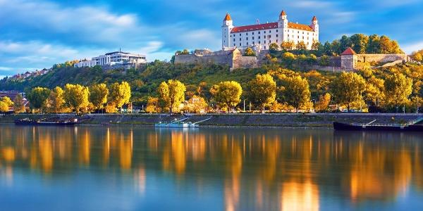 Bratislava along the Danube