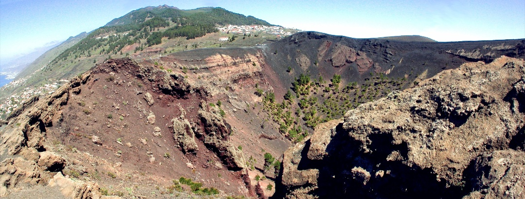 Volcano on La Palma