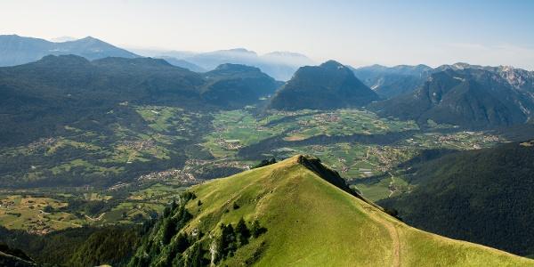 Panoramica dal Monte Valandro