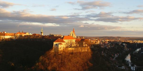 Pohled na Znojemský hrad