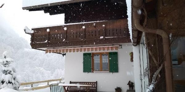 Imkerhus Winter Aussenansicht