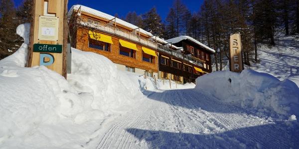 Berghotel Sterna im Winter