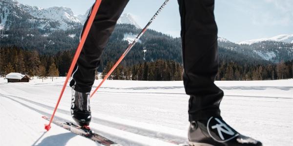 Gran Ancëi cross-country skiing slope