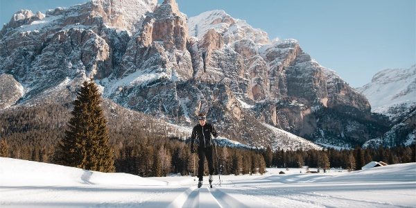 Setsas cross-country skiing slope