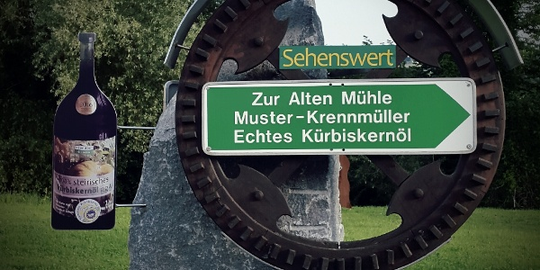 Krennmühle Schild