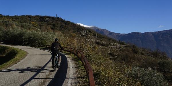 Aufstieg nach Padaro