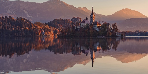 The Bled island