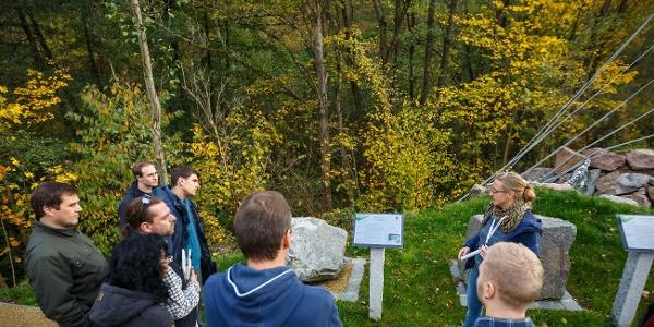 Geführte Tour über den Weg der Gesteine Sachsens