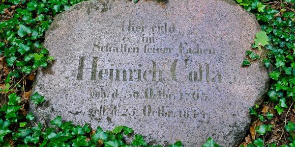 Gedenkstein Heinrich Cotta