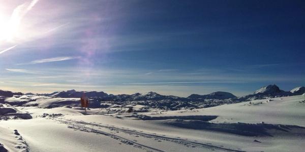 Skitour Krippenstein