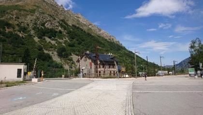 Trainstation L'Hospitalet-pres-l'Andorre