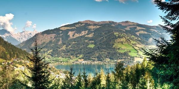 Blick auf den Zeller See