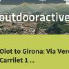 bicycle ride in la Vall d'en Bas: Olot to Girona: Via Verda Carrilet 1 (traffic-free)