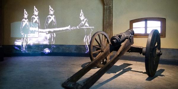 Kanone Flaschenstube