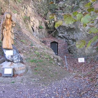 Reicher Matthias mit Heiliger Barbara