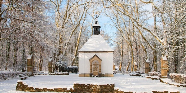 Die Waldkapelle, Ziel unseres Weges