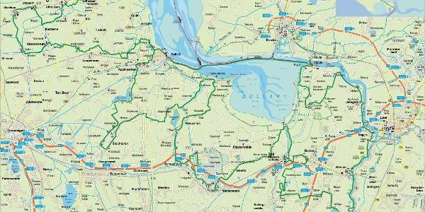 Borkum Karte Fahrradwege.6 Tage Tour Durch Ostfriesland Und Die Niederlande Auf Der