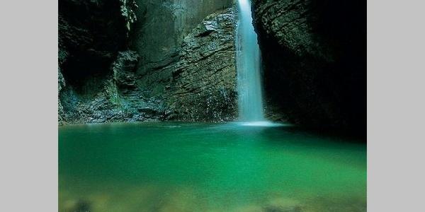Waterfall Kozjak, Kobarid