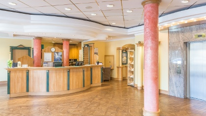 Lobby im Arcadia Hotel Düsseldorf © Hotels by HR Düsseldorf GmbH
