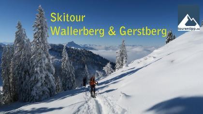 Skitour Wallerberg Gerstberg Kitzbüheler Alpen   tourentipp.com