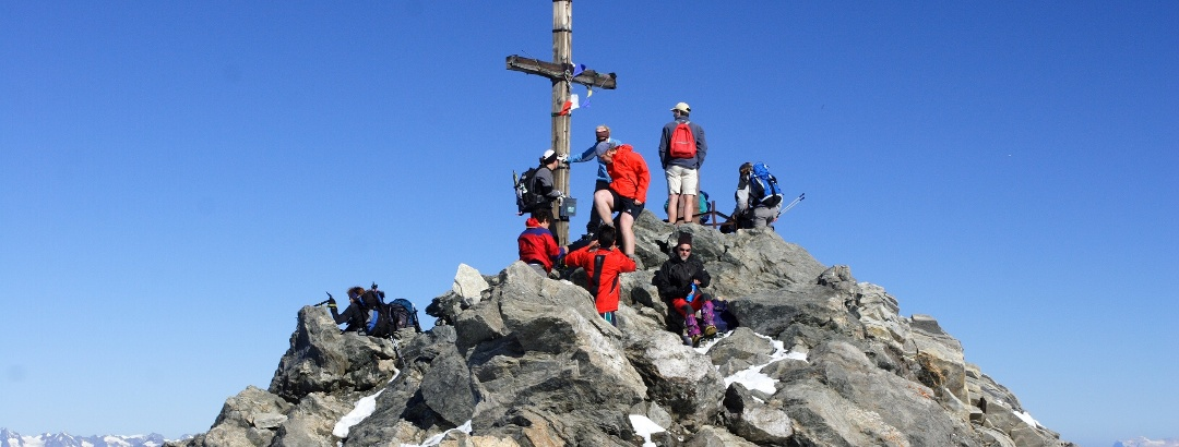 Auf dem Gipfel ist nicht viel Platz