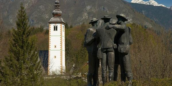 A MONUMENT TO FOUR BRAVE MEN