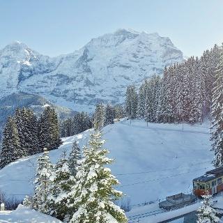 Grütschalp Winteregg Mürren