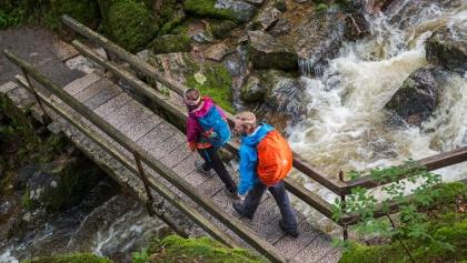 Brücke am Menzenschwander Wasserfall