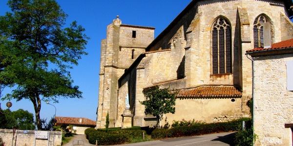 Kirche von Miradoux