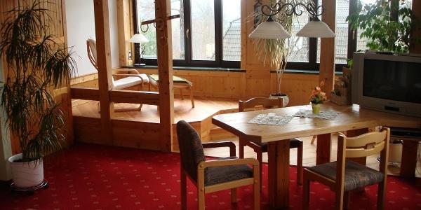 """Zimmer """"Scharfenstein"""" Hotel Cafe Friedrich"""