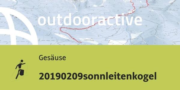 Skitour im Gesäuse: 20190209sonnleitenkogel