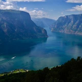 View from Stegastein
