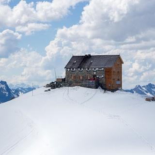Hochstubaihütte mit Winterraum