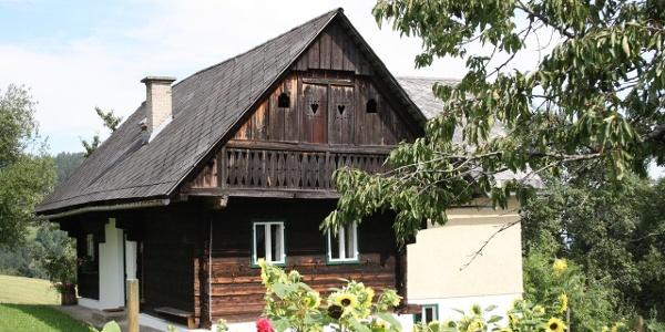 Aussenansicht Haus Ferienhaus Koglegg