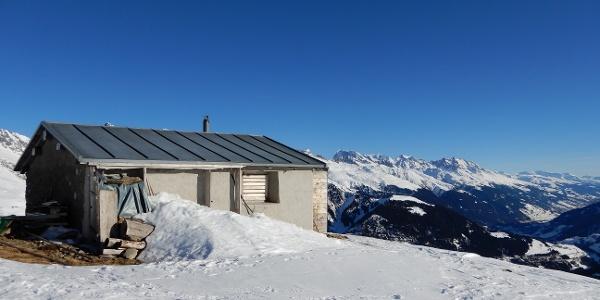 Alphütte Stavel Sisum