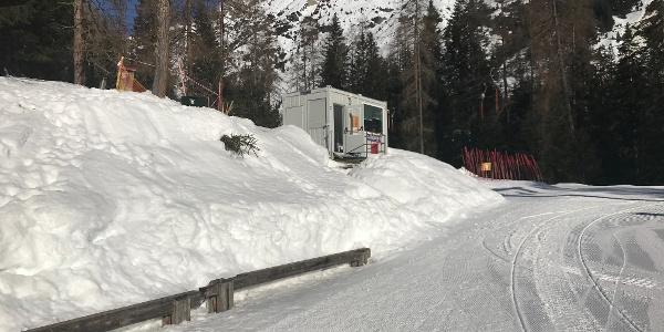 Start bei der Bergstation Malchbachlift