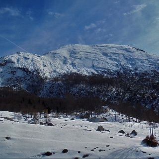 On the Razor Mountain pasture
